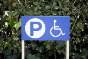 車椅子パーキング